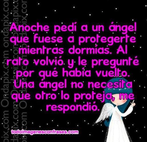 Imágenes de frases con ángeles