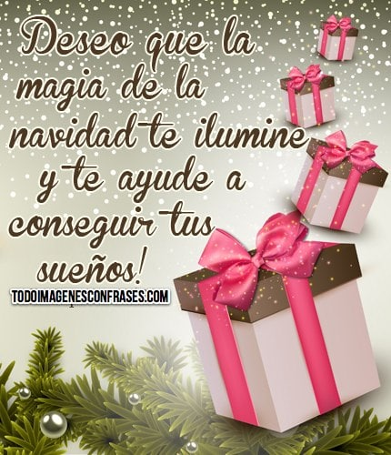 Im genes de navidad con buenos deseos - Deseos de feliz navidad ...