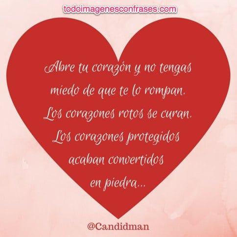 Imagenes Con Frases Abre Tu Corazon