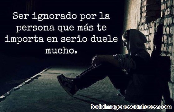 imagenes con frases tristes