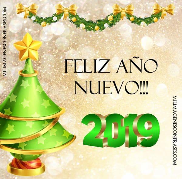 tarjetas ano nuevo 2019